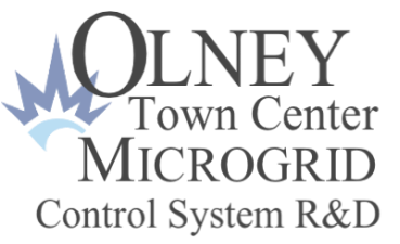 Olney Town Center Microgrid Control System R&D